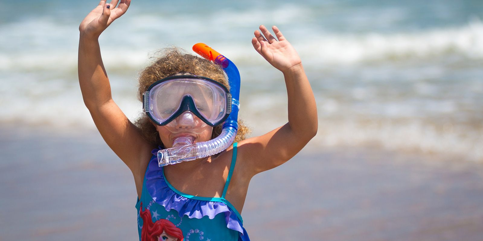 Snorkeling is fun for the whole family on Hatteras!
