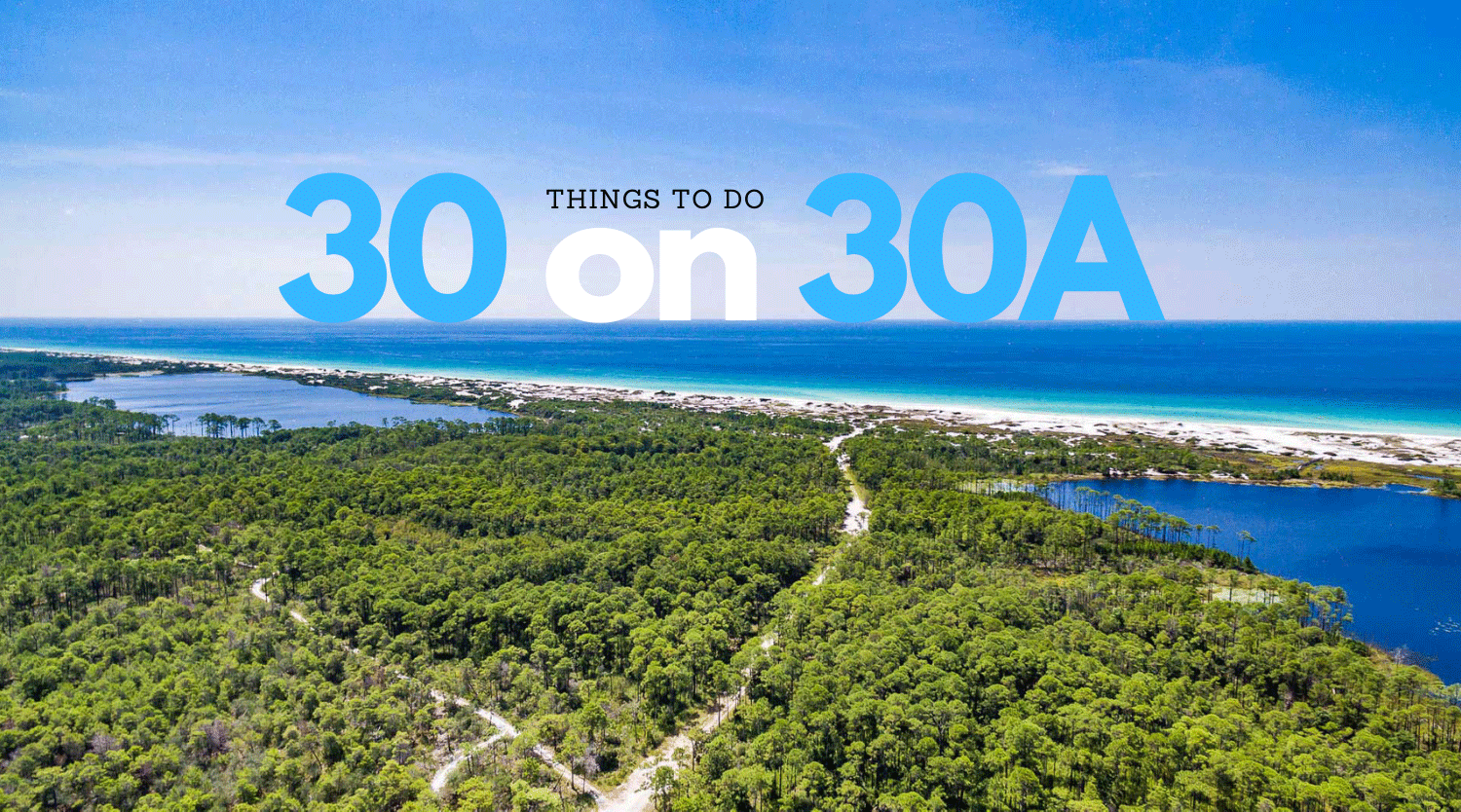 Things to do on 30A