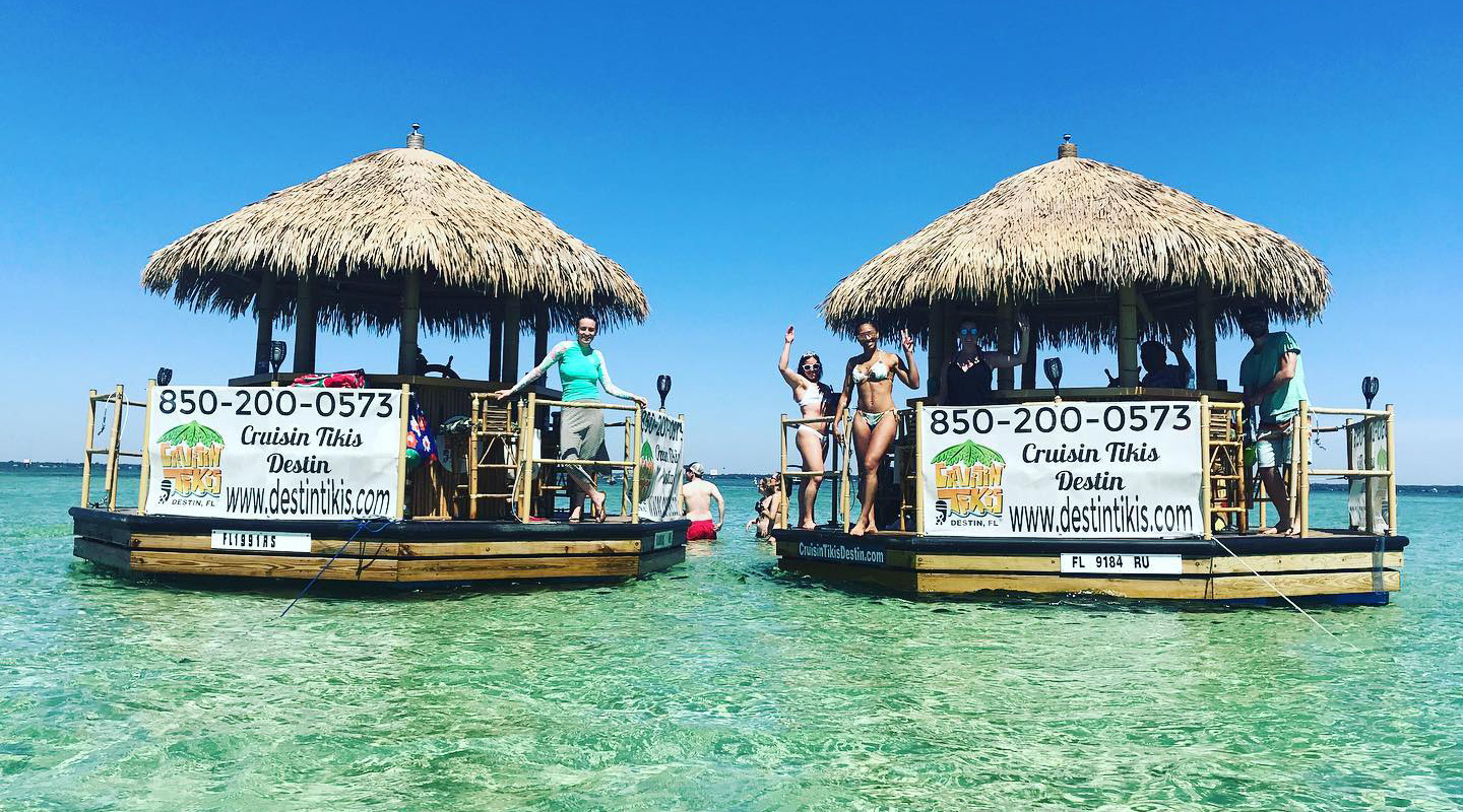 Floating Tiki Bar Cruise Destin