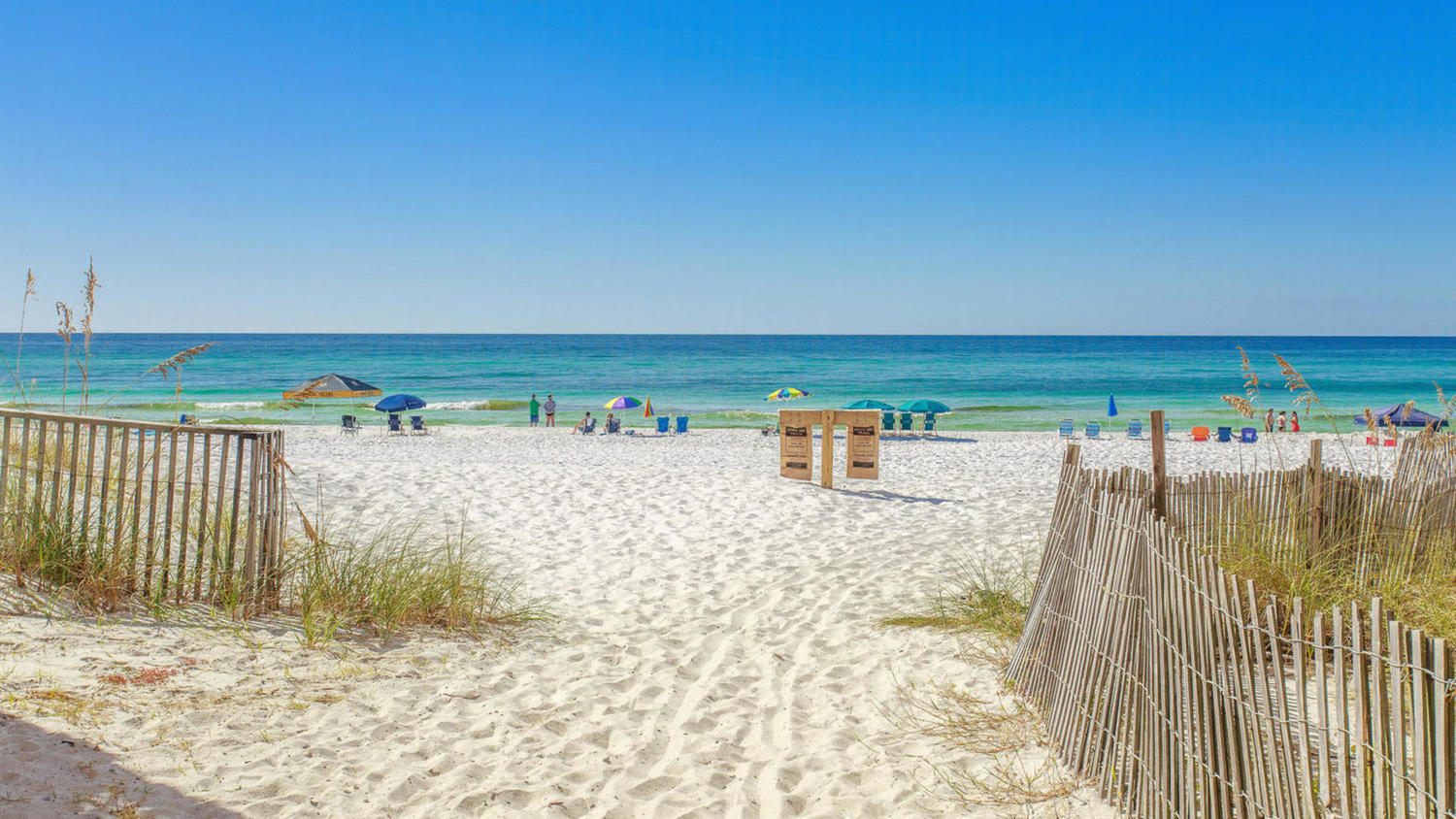 Gulfside Cottages Beach