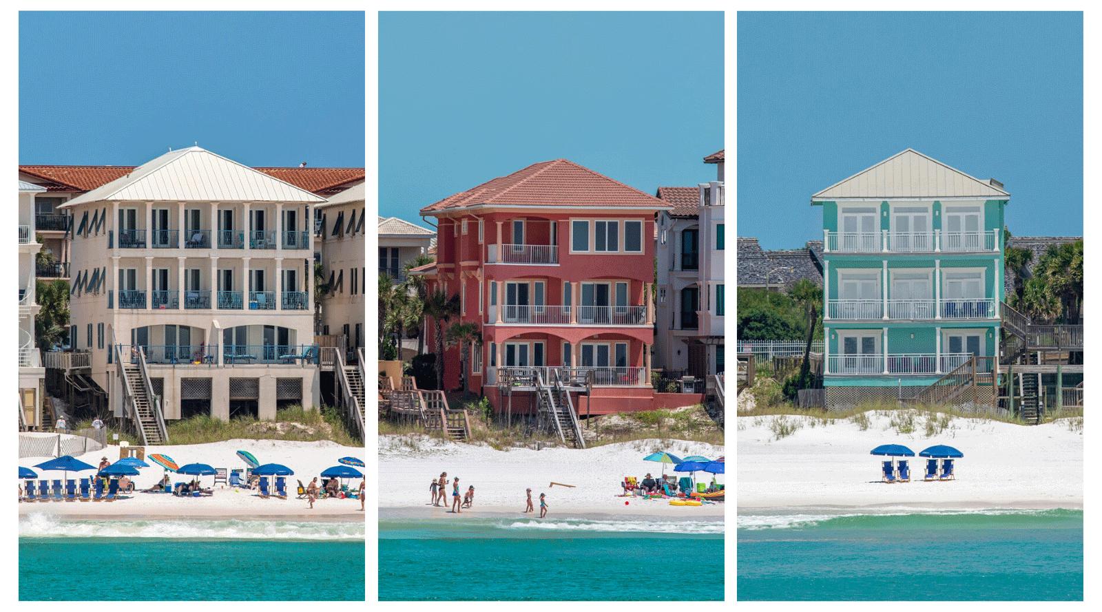 New Beachfront Vacation Homes in Destin