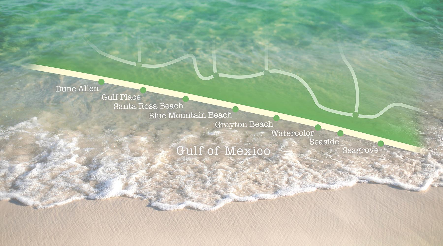 Santa Rosa Beach Towns