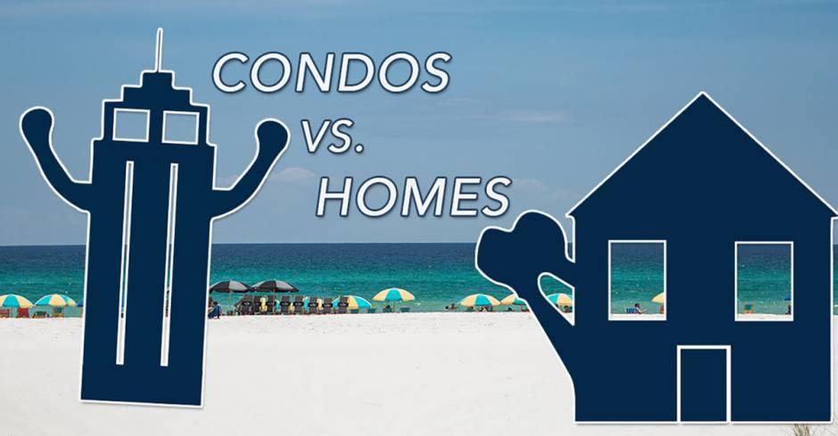 Destin Vacation Rentals: Condos vs. Homes