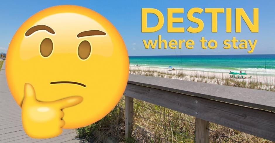 Destin - Where to Stay