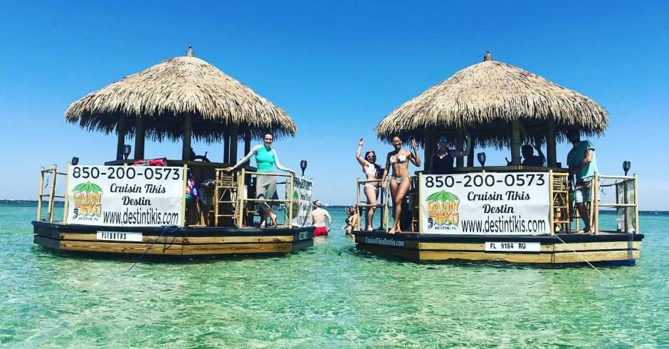 Floating Tiki Bar Cruise Destin