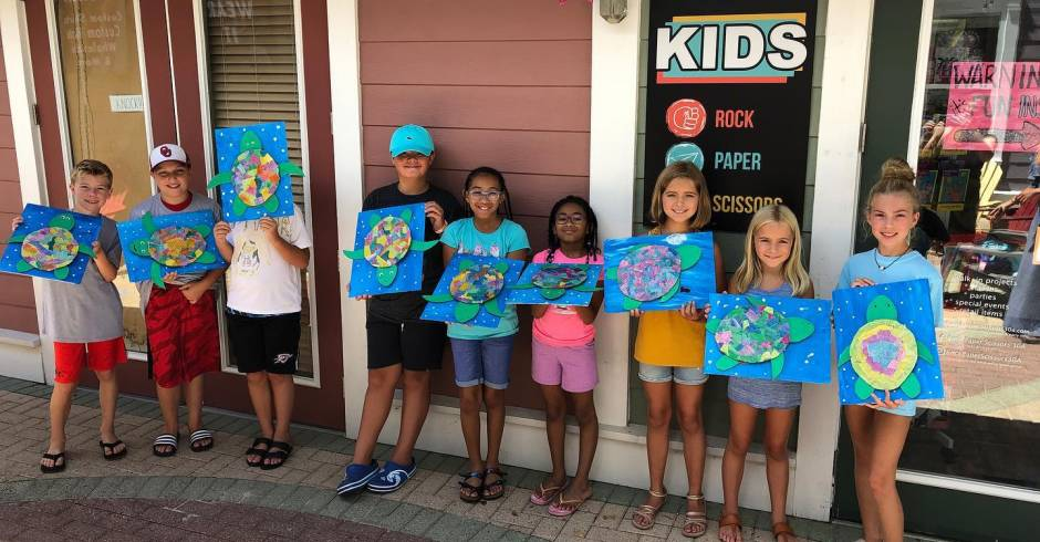 Art Classes for Kids on 30A