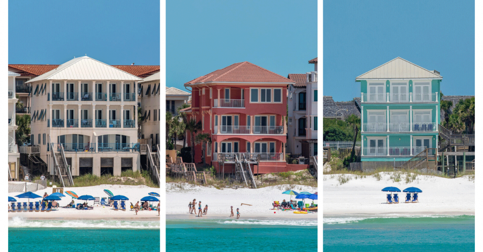 New Beachfront Vacation Homes in Destin