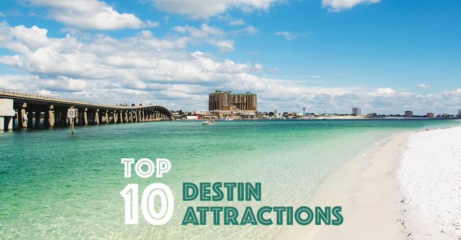 Top 10 Destin Attractions