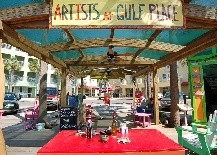 Artists at Gulf Place