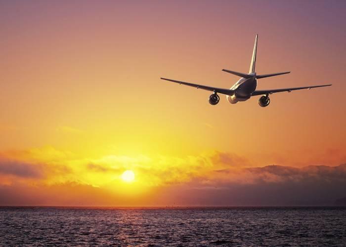Flying to Destin