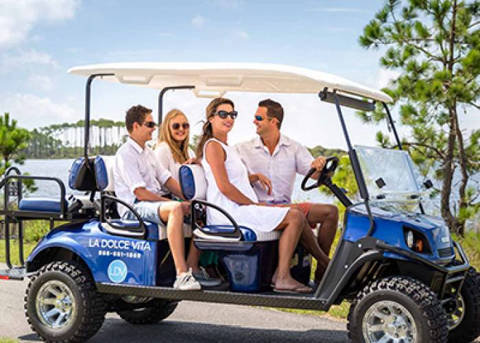 La Dolce Vita Golf Carts