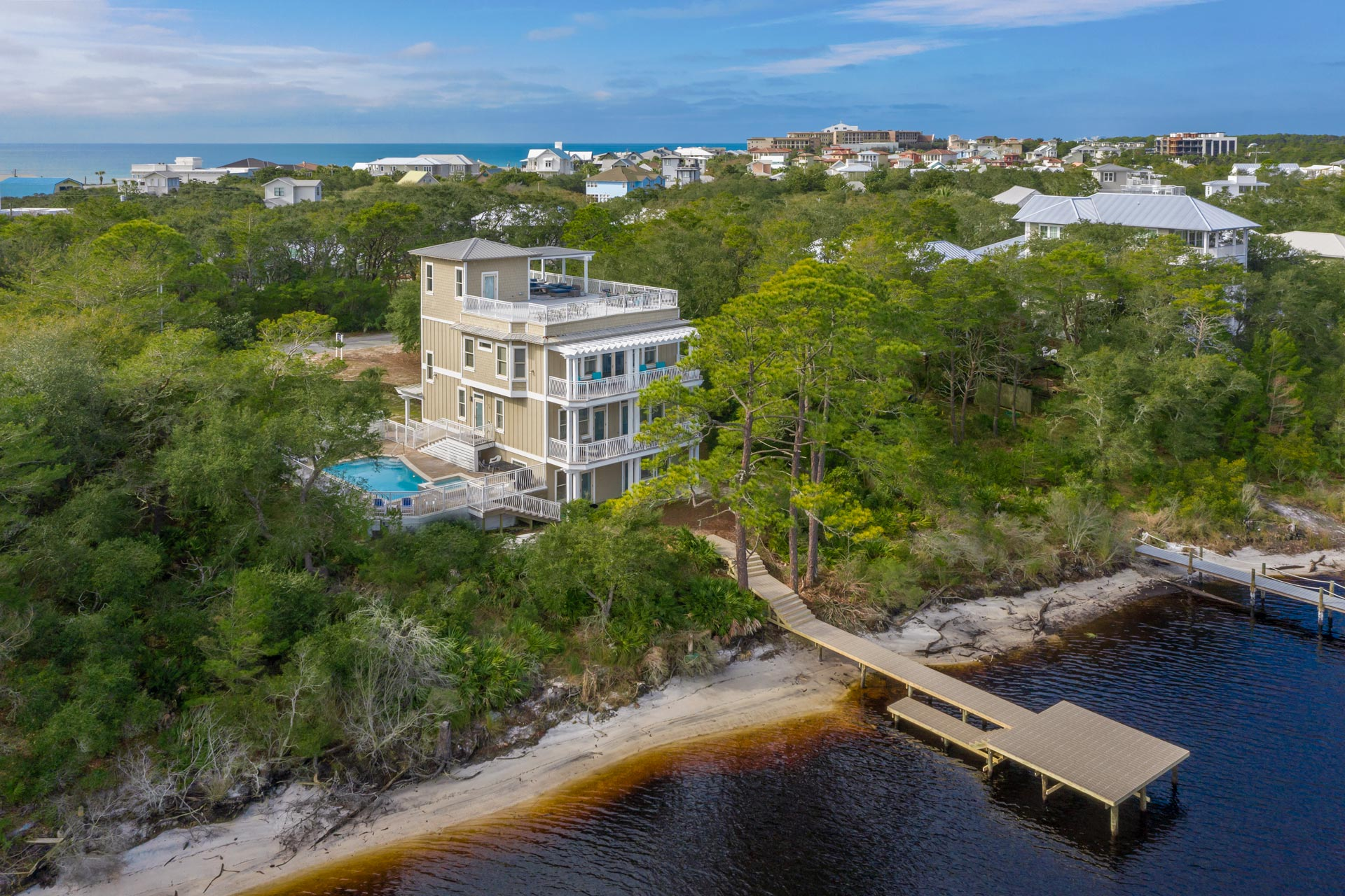 About Time at Redfish Vacation Home