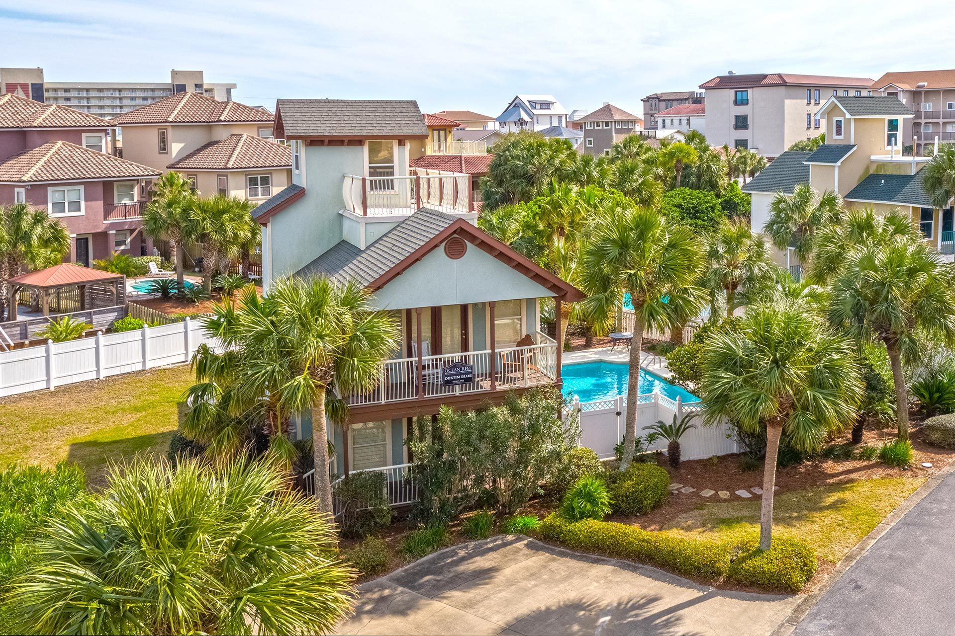 Destin Blue Vacation Home with Pool